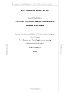 thesis abstract of ethnomethodology Phd thesis abstract organizational communication – a premise for  1272 ethnomethodology 40 1273 symbolic interactionism 41.
